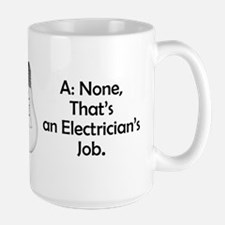 Carpenter / Electrician Riddle Mugs