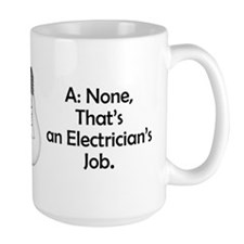 Carpenter / Electrician Riddle Mugs