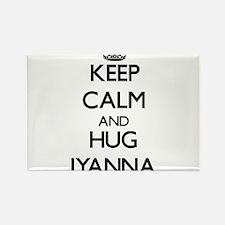 Keep Calm and HUG Iyanna Magnets