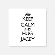 Keep Calm and HUG Jacey Sticker