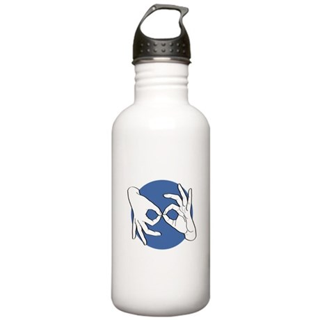 SL Interpreter 01-05 Stainless Water Bottle 1.0L