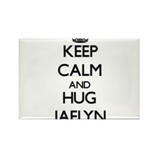 Keep Calm and HUG Jaelyn Magnets