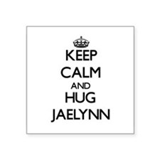 Keep Calm and HUG Jaelynn Sticker