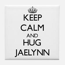 Keep Calm and HUG Jaelynn Tile Coaster