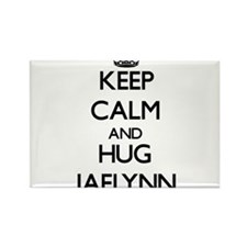 Keep Calm and HUG Jaelynn Magnets