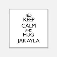 Keep Calm and HUG Jakayla Sticker