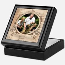 Personalizable Edwardian Photo Frame Keepsake Box