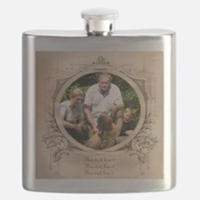 Personalizable Edwardian Photo Frame Flask