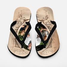 Personalizable Edwardian Photo Frame Flip Flops