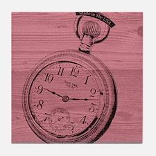 Pocket Watch Tile Coaster