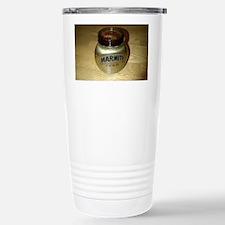 Marmite Gold Stainless Steel Travel Mug