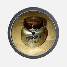 Marmite Gold Wall Clock