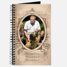 Personalizable Edwardian Photo Frame Journal