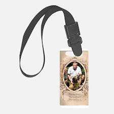 Personalizable Edwardian Photo Frame Luggage Tag
