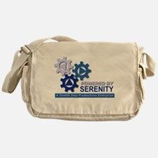Powered by Serenity Messenger Bag