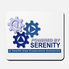 Powered by Serenity Mousepad