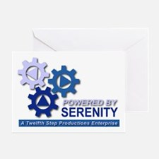 Powered by Serenity Greeting Card
