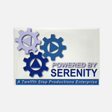 Powered by Serenity Rectangle Magnet (10 pack)