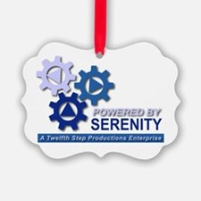 Powered by Serenity Ornament