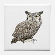 Owl Tile Coaster