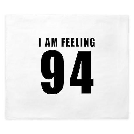 I am feeling 94 King Duvet