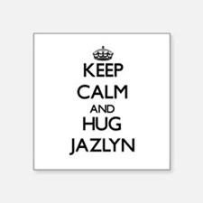 Keep Calm and HUG Jazlyn Sticker