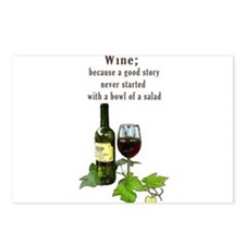 Wine Story Postcards (Package of 8)