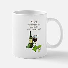 Wine Story Mugs