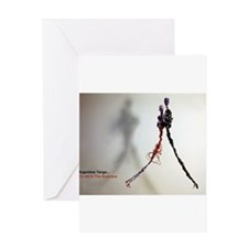 Argentine Tango Close Embrace Card Greeting Cards