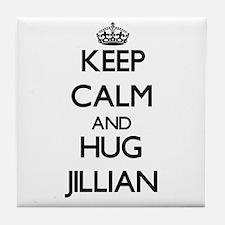 Keep Calm and HUG Jillian Tile Coaster