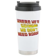 BTTF1 Travel Coffee Mug