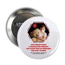 "Cute Allergies 2.25"" Button (100 pack)"