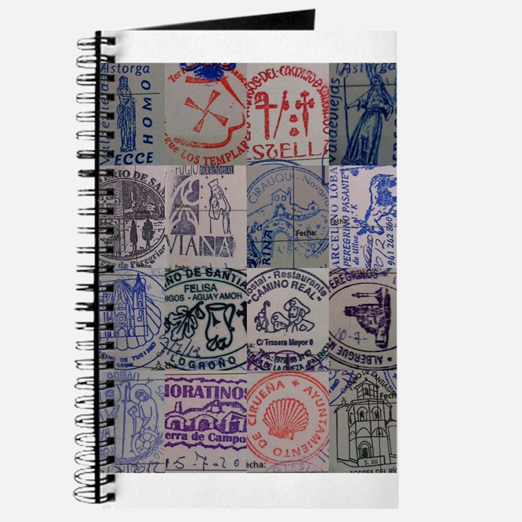 Cute Camino de santiago Journal