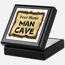 Custom Man Cave Keepsake Box