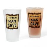 Man cave Pint Glasses