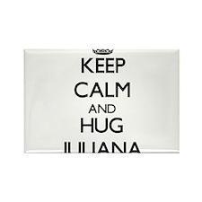 Keep Calm and HUG Juliana Magnets