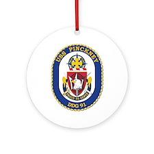 USS Pinckney (DDG-91) Ornament (Round)