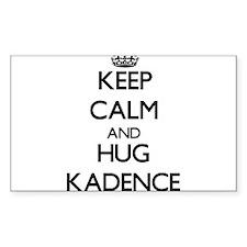 Keep Calm and HUG Kadence Decal