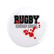 """Rugby No Blood No Foul 3.5"""" Button"""