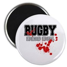 Rugby No Blood No Foul Magnet
