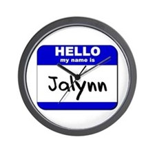 hello my name is jalynn  Wall Clock