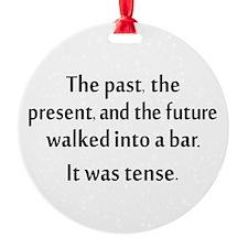 Grammar Joke Ornament