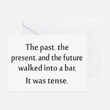 Grammar Joke Greeting Card