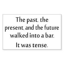 Grammar Joke Decal