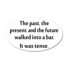 Grammar Joke Wall Sticker
