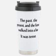 Grammar Joke Travel Mug