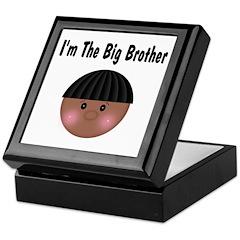 African American Big Brother Keepsake Box
