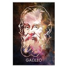Galileo Space Large Posters