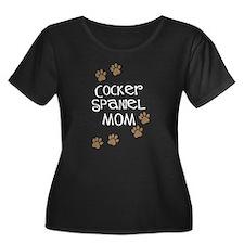 Cocker Spaniel Mom Plus Size T-Shirt