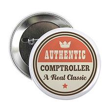 """Comptroller Vintage 2.25"""" Button"""